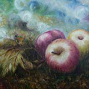 """Картины и панно ручной работы. Ярмарка Мастеров - ручная работа Картина """"Яблочный спас"""". Handmade."""