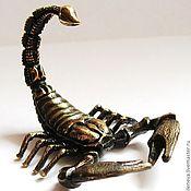 Куклы и игрушки ручной работы. Ярмарка Мастеров - ручная работа Статуэтка Скорпион. Handmade.