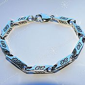 handmade. Livemaster - original item Bracelet Perun (7.5 mm). Handmade.