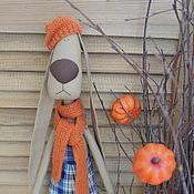 Куклы и игрушки ручной работы. Ярмарка Мастеров - ручная работа Текстильный заяц. Handmade.
