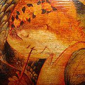 """Картины и панно ручной работы. Ярмарка Мастеров - ручная работа Панно """"Рождественский ангел"""". Handmade."""