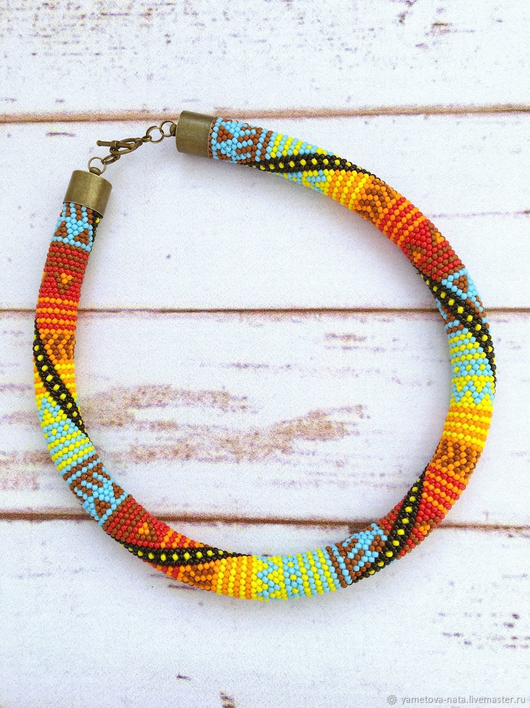 Bead harness Jamaica, Necklace, Abakan,  Фото №1