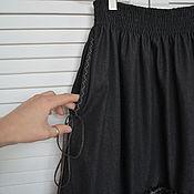 Одежда ручной работы. Ярмарка Мастеров - ручная работа Юбка в стиле бохо джинсовая. Handmade.