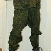 Одежда ручной работы. Ярмарка Мастеров - ручная работа порты мужские из камуфляжной ткани. Handmade.