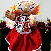 Кукольный театр ручной работы. Ярмарка Мастеров - ручная работа Маруся. Перчаточная театральная кукла.. Handmade.