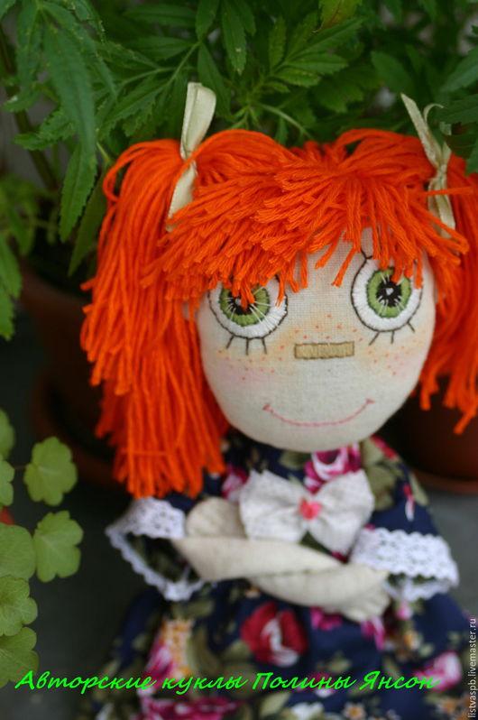 Коллекционные куклы ручной работы. Ярмарка Мастеров - ручная работа. Купить Игровая кукла. Интерьерная кукла. Текстильная кукла.. Handmade.