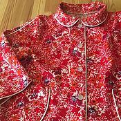 Комплекты одежды ручной работы. Ярмарка Мастеров - ручная работа Пижама детская из фланели. Handmade.