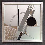 Картины и панно ручной работы. Ярмарка Мастеров - ручная работа Картина триптих Авангард. Handmade.