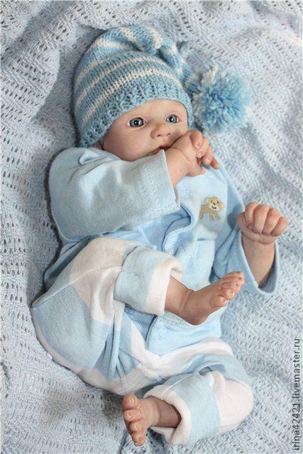 Куклы-младенцы и reborn ручной работы. Ярмарка Мастеров - ручная работа. Купить Кукла реборн Алёшка.. Handmade. Кукла реборн