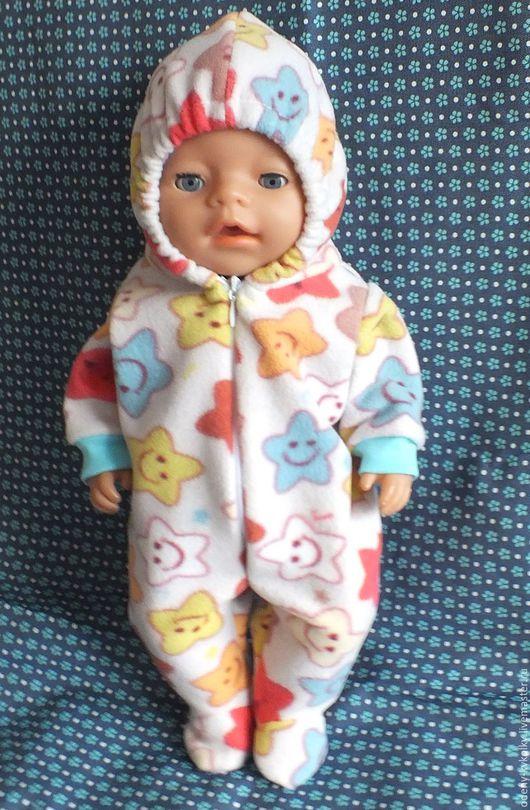Одежда для кукол ручной работы. Ярмарка Мастеров - ручная работа. Купить Одежда для куклы Беби борн. Handmade. Розовый, пижама