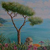 """Картины и панно ручной работы. Ярмарка Мастеров - ручная работа Картина """"Южный пейзаж"""". Handmade."""