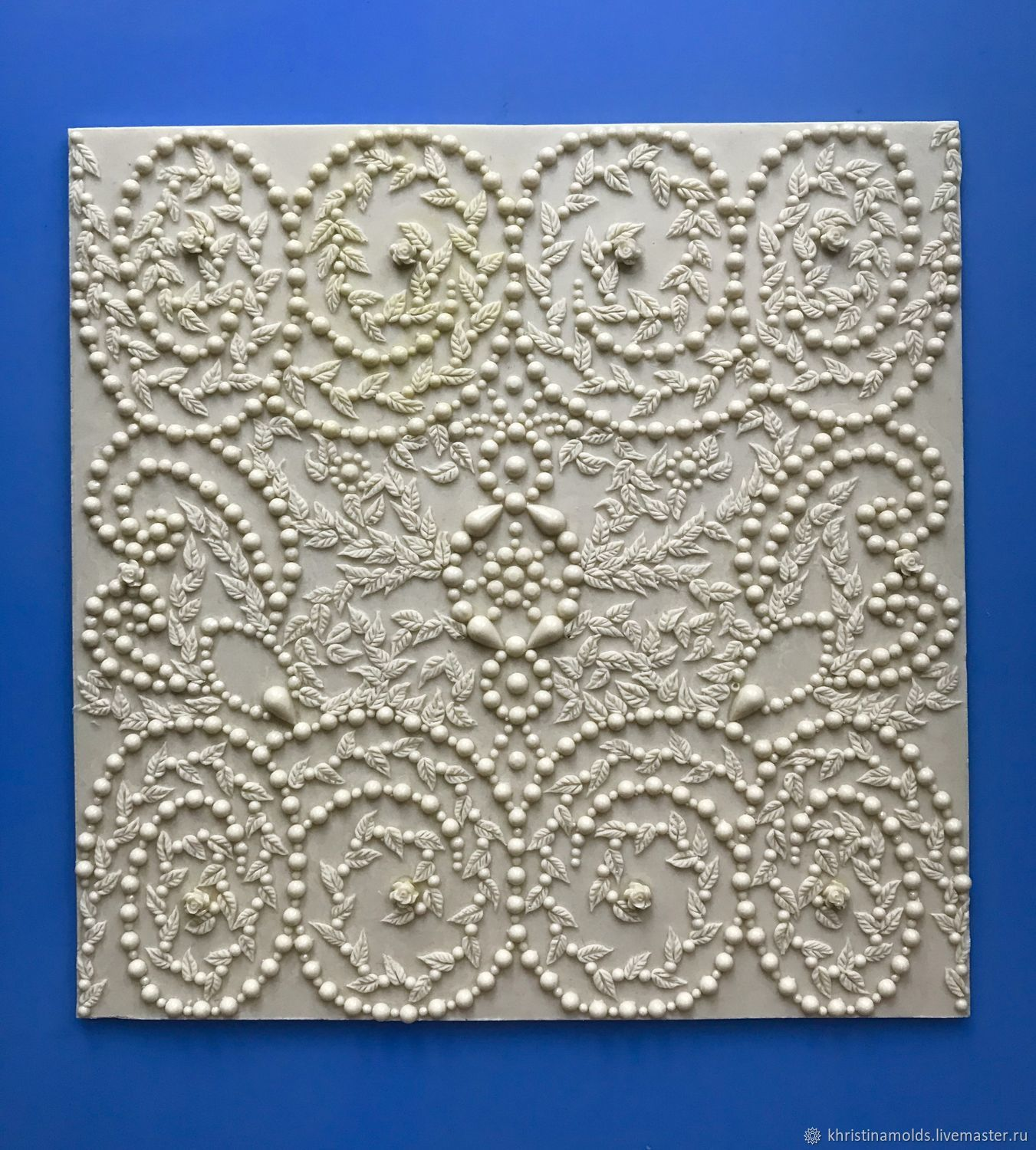 silicone mold: ' BAROQUE', Molds for making flowers, St. Petersburg,  Фото №1