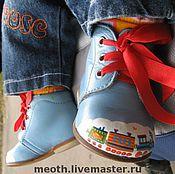 Винтаж ручной работы. Ярмарка Мастеров - ручная работа Роспись обуви. Handmade.