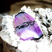 Материалы для творчества handmade. Livemaster - original item Cabochon agate with quartz (Association)