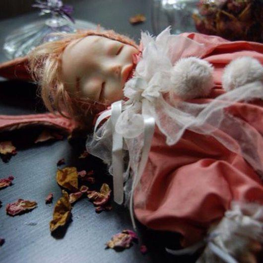 Коллекционные куклы ручной работы. Ярмарка Мастеров - ручная работа. Купить Кукла теддидолл. Handmade. Теддидолл, соня, опилки