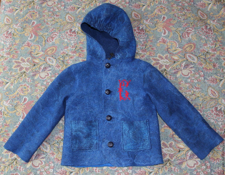 Детская валяная куртка, Одежда для мальчиков, Новосибирск, Фото №1