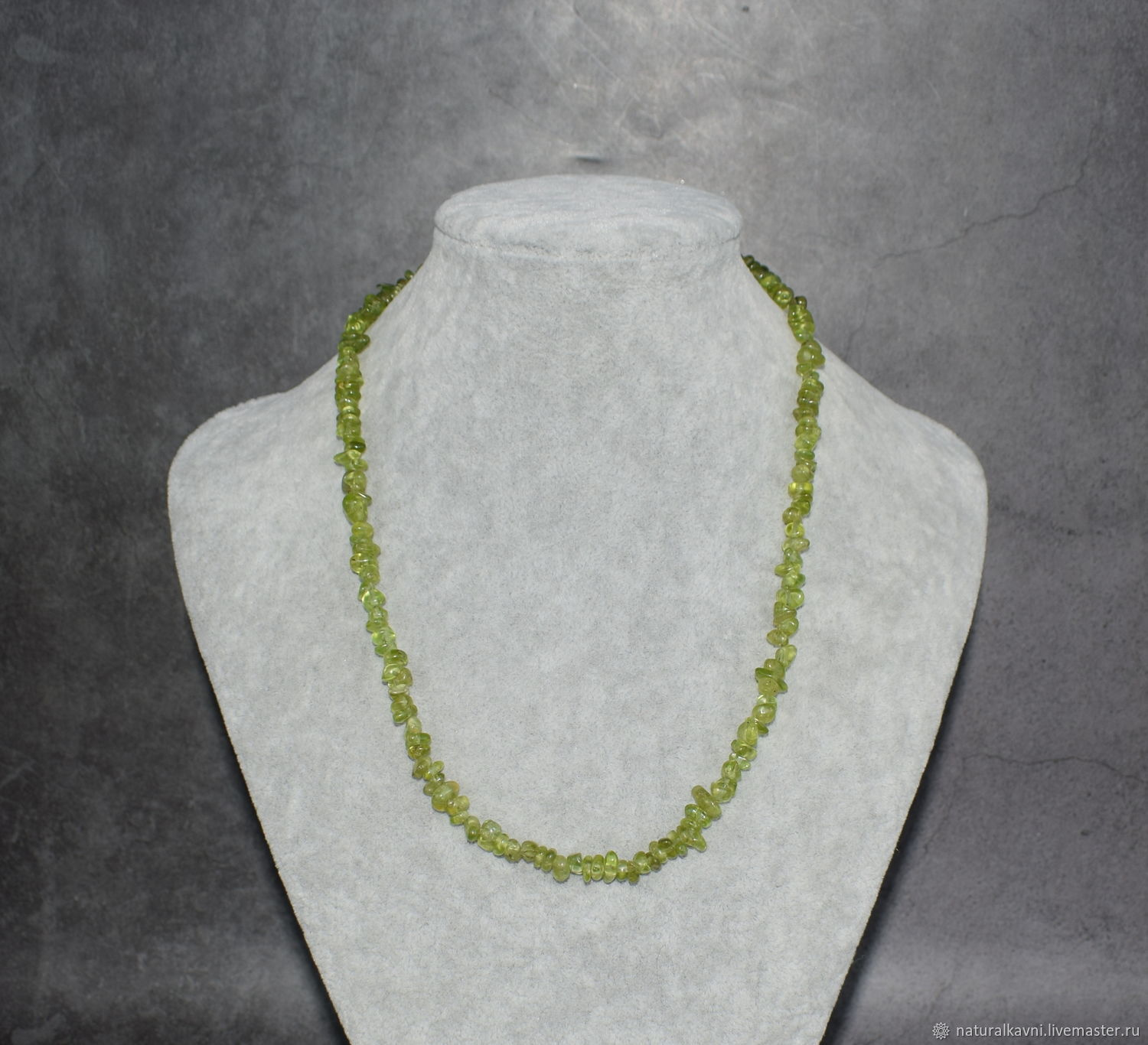 Necklaces / choker natural stone is peridot, Beads2, Moscow,  Фото №1