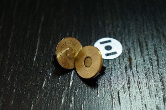 Шитье ручной работы. Ярмарка Мастеров - ручная работа. Купить Магнитная кнопка 18 мм.. Handmade. Магнитная кнопка