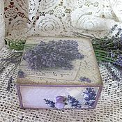 Для дома и интерьера handmade. Livemaster - original item Lavanda-Box for herbs. Handmade.