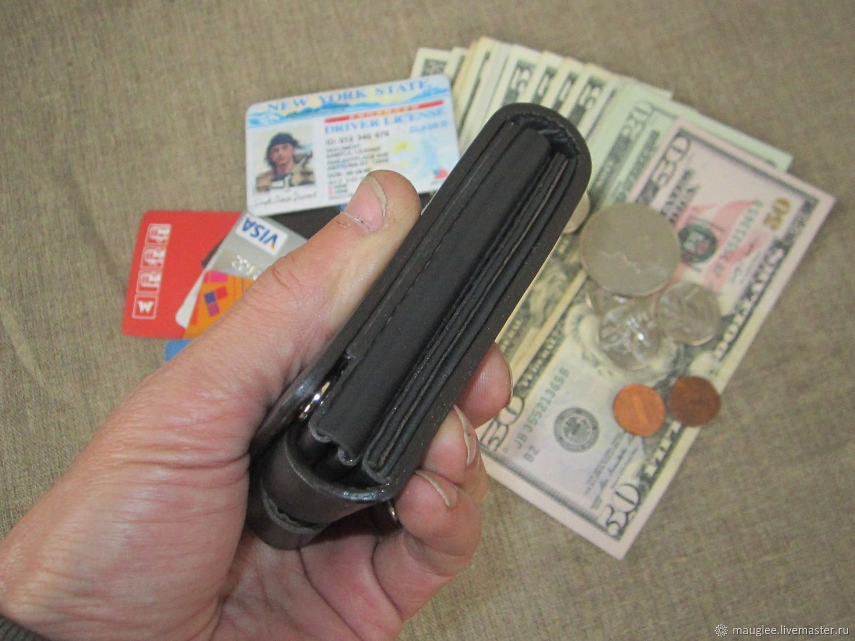 Copy of S-Fold! Compact wallet. RFID-Protection. Personalized wallet, Wallets, Nizhnij Tagil,  Фото №1