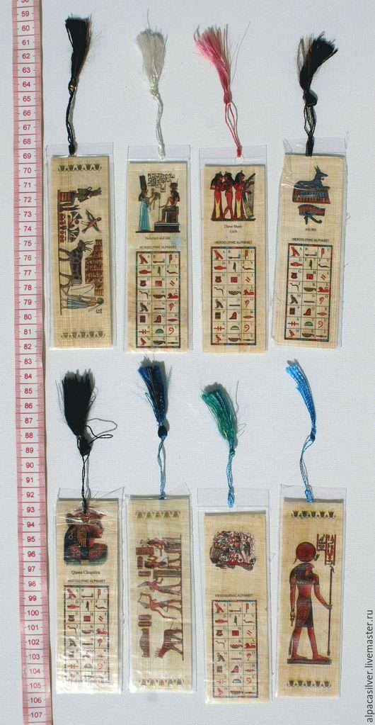 Закладки для книг ручной работы. Ярмарка Мастеров - ручная работа. Купить Закладка для книг из папируса. Handmade. Бежевый, закладка для книг