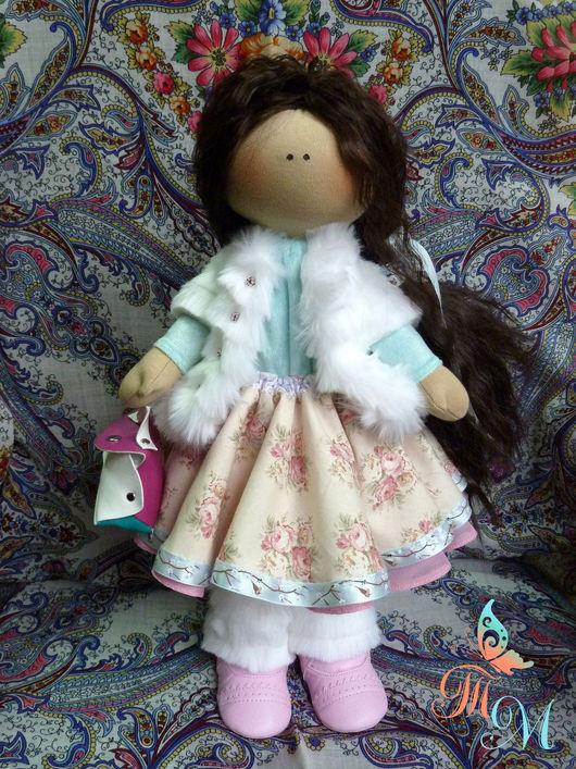 Коллекционные куклы ручной работы. Ярмарка Мастеров - ручная работа. Купить Таша. Авторская интерьерная текстильная кукла. Handmade. Кукла