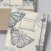 Альбом для гербария Юной исследовательнице (А4, для 40 растений)