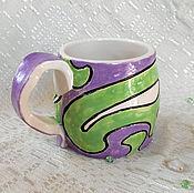 Посуда handmade. Livemaster - original item Mug Fantasian. Handmade.