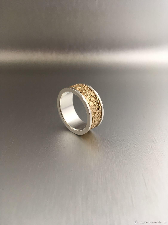 f46c9b3fa20a Кольца ручной работы. Заказать кольцо из жёлтого золота. Авторское кольцо.  Необычное кольцо.