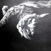 """Картины и панно ручной работы. Ярмарка Мастеров - ручная работа Картина """"Блаженная мурлыка"""". Handmade."""