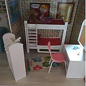 Куклы и игрушки handmade. Livemaster - original item Bunk bed - furniture for dolls. Handmade.