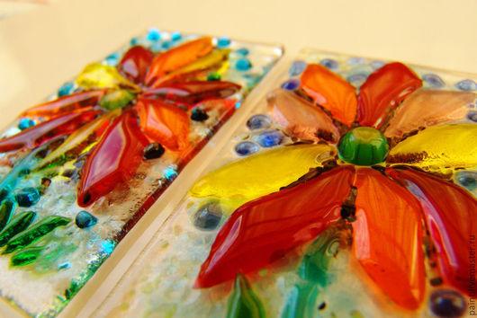 """Мебель ручной работы. Ярмарка Мастеров - ручная работа. Купить универсальный декор """"Лето, ах, лето....!""""- фьюзинг. Handmade."""