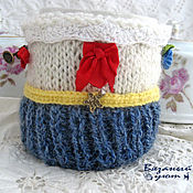 Для дома и интерьера handmade. Livemaster - original item Hot water bottle for a Cup and a Cup of