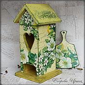 """Для дома и интерьера ручной работы. Ярмарка Мастеров - ручная работа Чайный домик """"Морозник"""". Handmade."""