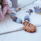 Одежда handmade. Livemaster - original item Slingobusy juniper grey with blue Penguin. Handmade.
