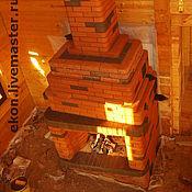 """Для дома и интерьера ручной работы. Ярмарка Мастеров - ручная работа Печь-камин""""Берёзка"""". Handmade."""