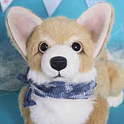 Куклы и игрушки handmade. Livemaster - original item Teddy dog Bell/Belly. Handmade.