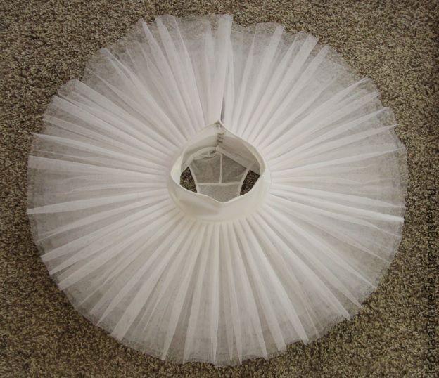 Как сшить юбку из фатина для балерины