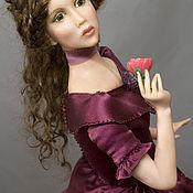 Куклы и игрушки ручной работы. Ярмарка Мастеров - ручная работа Виолетта (Куртизанка). Handmade.