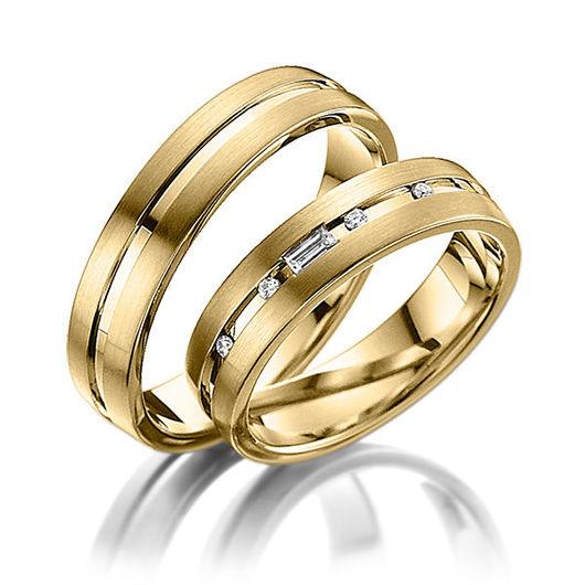 Свадебные украшения ручной работы. Ярмарка Мастеров - ручная работа. Купить Обручальные кольца Modern 22-012 NEW. Handmade.