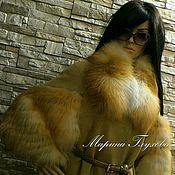 Одежда ручной работы. Ярмарка Мастеров - ручная работа Пальто в стиле FENDI. Handmade.