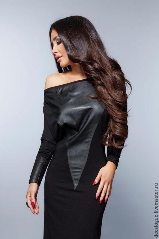 """Платья ручной работы. Ярмарка Мастеров - ручная работа. Купить Платье """"BLACK WAY"""". Handmade. Черный, платье вечернее"""