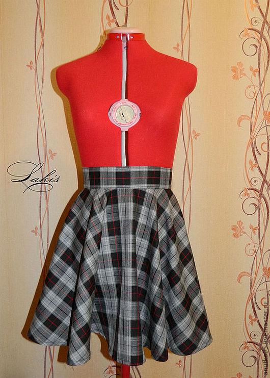 """Юбки ручной работы. Ярмарка Мастеров - ручная работа. Купить юбка """"солнце"""". Handmade. Юбка, юбка сшитая, юбка на молнии"""