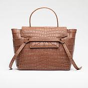 Сумки и аксессуары handmade. Livemaster - original item Women`s bag made of genuine crocodile belly leather. Handmade.