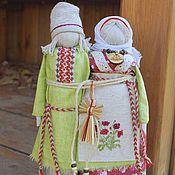 """Куклы и игрушки ручной работы. Ярмарка Мастеров - ручная работа """"Неразлучники"""" традиционные куклы. Handmade."""