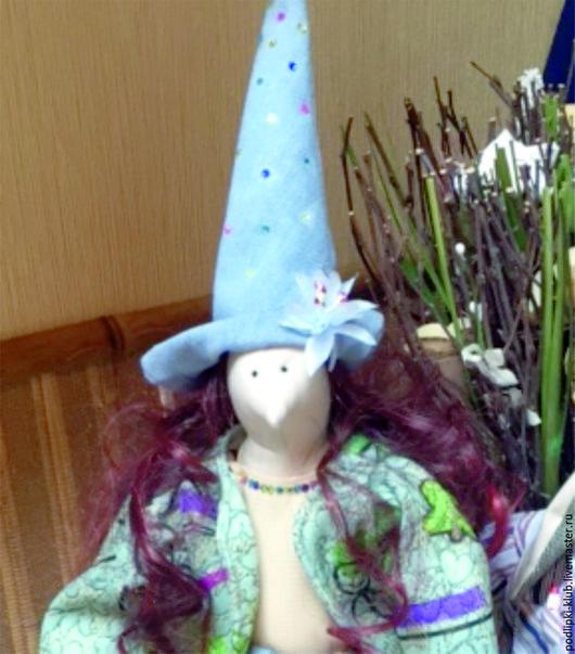 Куклы Тильды ручной работы. Ярмарка Мастеров - ручная работа. Купить Кукла Ведьмочка Путешественица. Handmade. Комбинированный, оберег в подарок