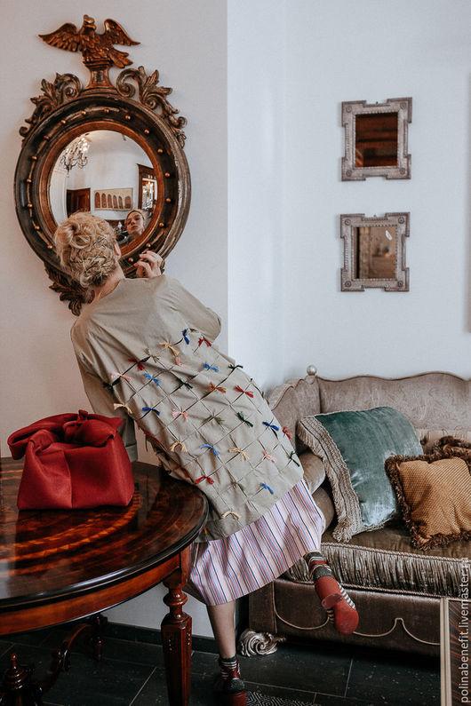 Пиджаки, жакеты ручной работы. Ярмарка Мастеров - ручная работа. Купить Жакет Haute couture. Handmade. Жакет, пиджак из хлопка