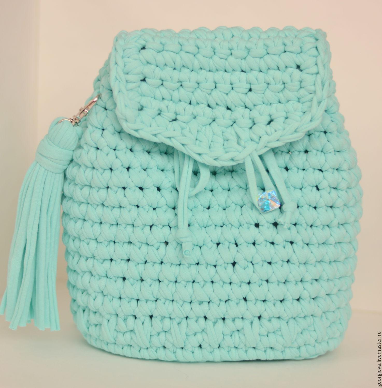 Рюкзак из ленточной пряжи skip-hop рюкзак backpack