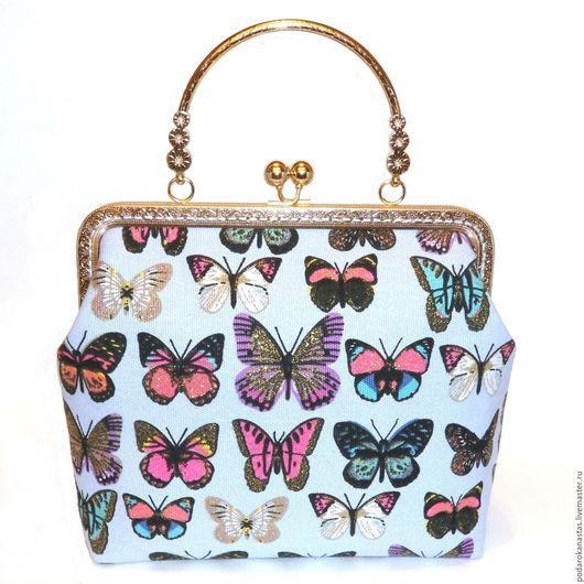 Женские сумки ручной работы. Ярмарка Мастеров - ручная работа. Купить Сумка женская,сумка женская с фермуаром,фермуар,сумка ручной ,handmade. Handmade.