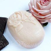 Косметика ручной работы. Ярмарка Мастеров - ручная работа Крем-масло для душа Розовый Шоколад. Handmade.